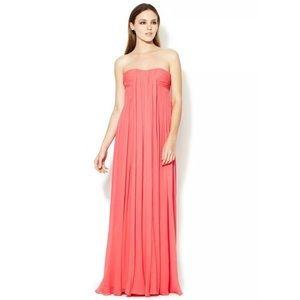 Halston Heritage Dress Silk Gown Sz 6 NWT $895 NEW